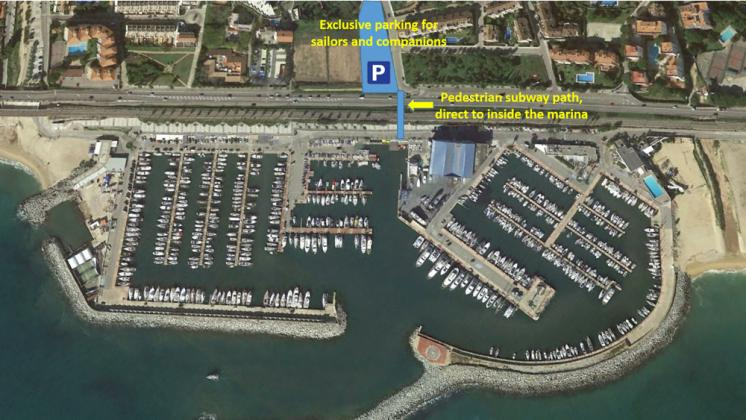Parking at Marina El Balís