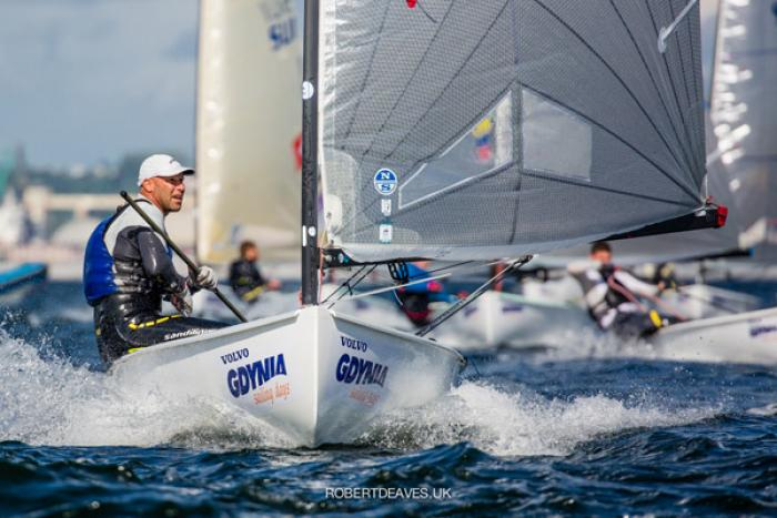 Triumph over adversity at Finn European Masters in Gdynia