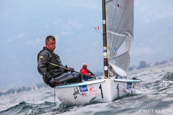 Points level with two races to go at Finn World Masters