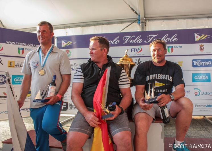 Rafael Trujillo wins Finn World Masters in Torbole