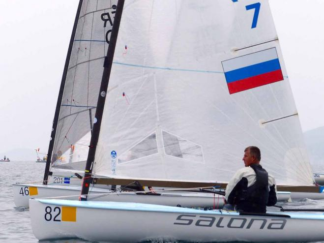 Krutskikh extends lead but title still open with one day to go at Finn World Masters in Kavala