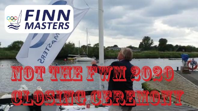 NOT the 2020 Finn World Masters Closing Ceremony